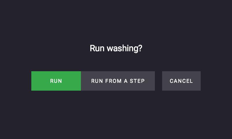 run-buttons